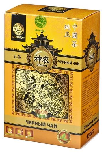 Чай Shennun дянь хун, черный, листовой 100 г. 13067  Shennun