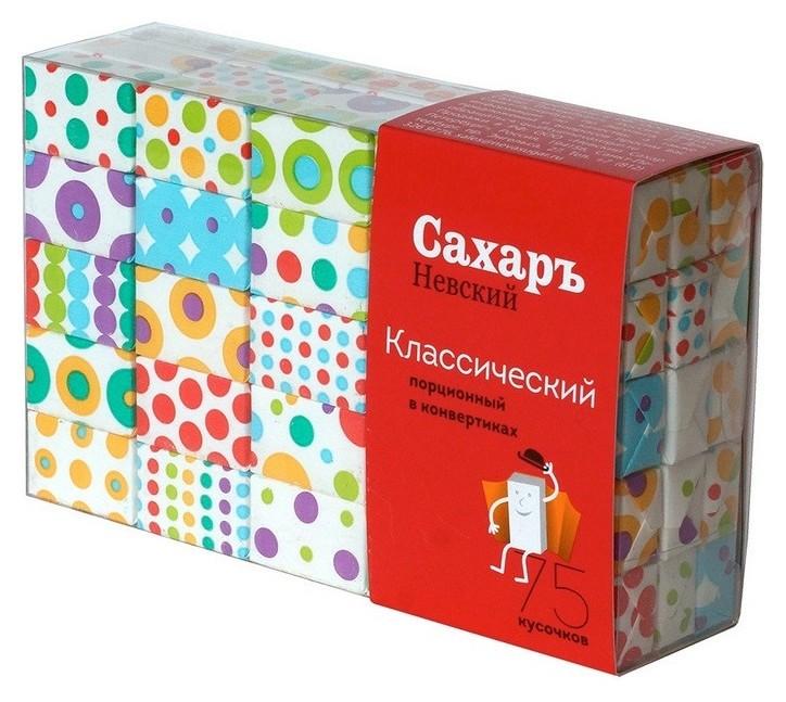 Сахар порционный кусковой белый 420 г  Сахаръ Невский
