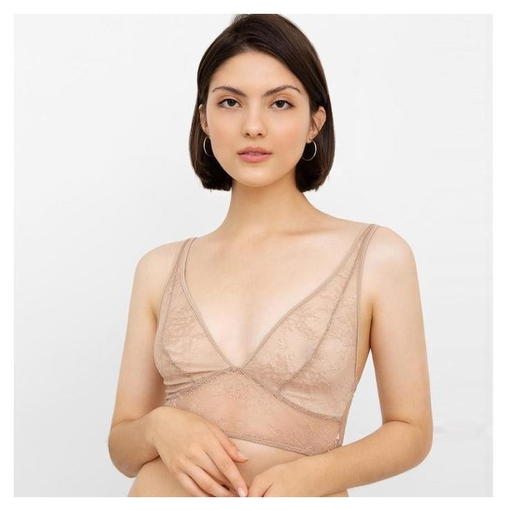 Бюстье женское, цвет бежевый, размер 42  Mark Formelle