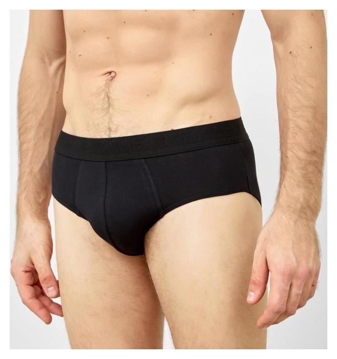 Трусы мужские слипы, цвет чёрный, размер 52  Mark Formelle