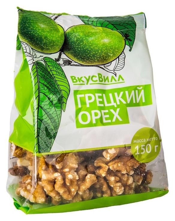 Орехи грецкий вкусвилл, 150 г  Вкусвилл