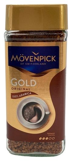 Кофе Movenpick Gold Original растворимый, 200г стекло  Movenpick