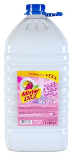 Жидкость для стирки Mister DEZ Eco-cleaning Prof 5 л  Mister Dez