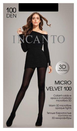 Колготки из микорфибры Incanto Microvelvet 100 Nero,36944944009917  Incanto