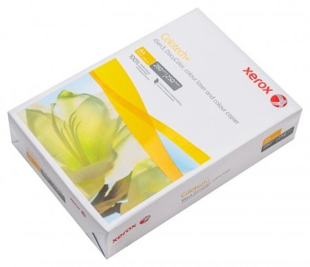 Бумага для цв.лазер.печ. Xerox Colotech Plus (А4,280г,170%cie) пачка250л.  Xerox