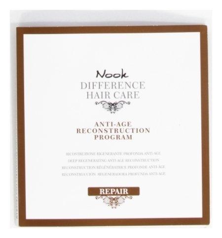 Набор Масляный Уход для глубокого восстановления поврежденных волос Anti-Age Reconstruction Program  Nook