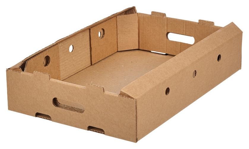 Короб картонный куриный лоток 560х375х110мм т-24 бурый 10шт/уп  NNB