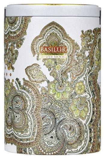 Чай Basilur восточная колл белая луна 100гр ж/б 70224  Basilur