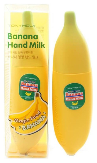 Крем для рук Magic Food Banana Hand Milk  Tony Moly