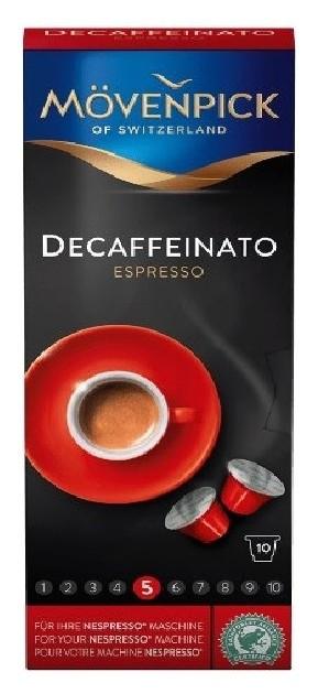 Кофе в капсулах Movenpick Espresso Decaffeinato, 10 капсул  Movenpick