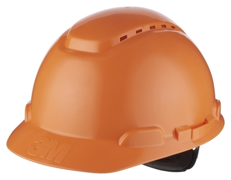 Каска 3М H-700n-or с храповиком оранжевая (Артикул производителя H-700n-or)  3M