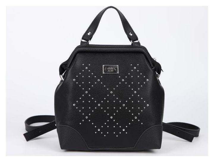 Рюкзак, отдел на молнии, цвет чёрный L-Craft