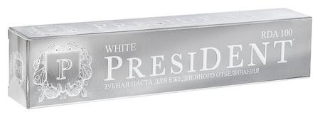 Зубная паста President White (100 RDA) 75 мл  President