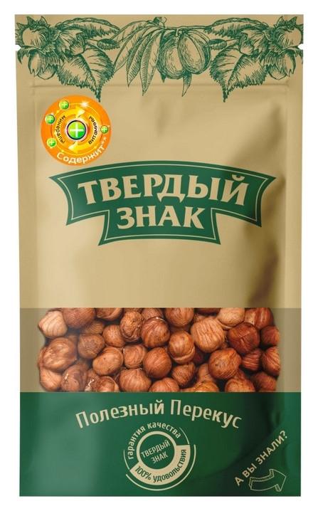 Орехи фундук очищенный твердый знак (Ядра ореховое фундука), 150г  Твердый знак