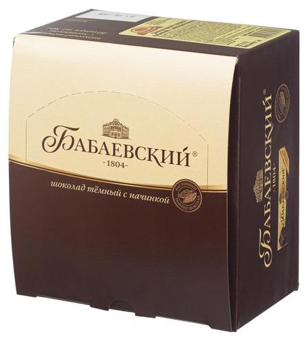 Шоколад бабаевский с шоколадной начинкой, 20шт х 50г  Бабаевский