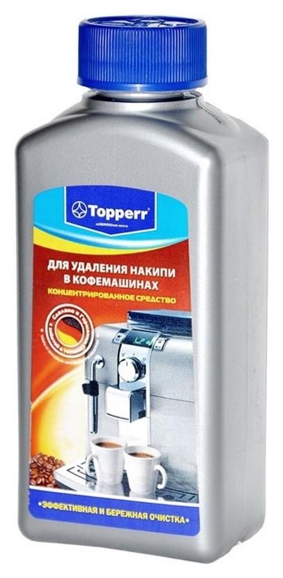 Жидкость для удаления накипи в кофемашинах Topper 3006  Topperr