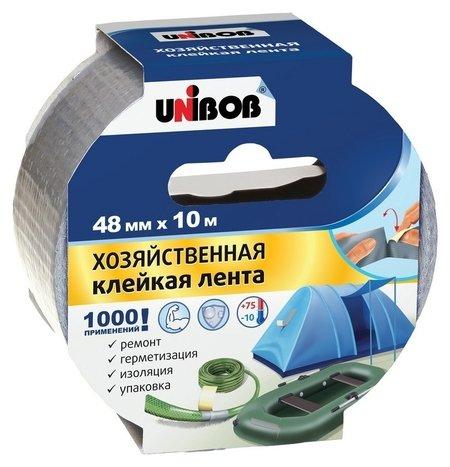 Клейкая лента хозяйственная Unibob 48мм х 10м  Unibob