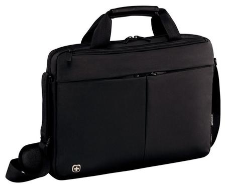 Сумка для документов Wenger, черный, нейлон/пвх, 39 X 8 X 26см, 5л 601079  Wenger