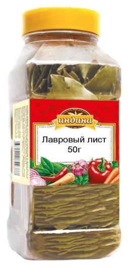 Приправа индана лавровый лист, 50г  Индана