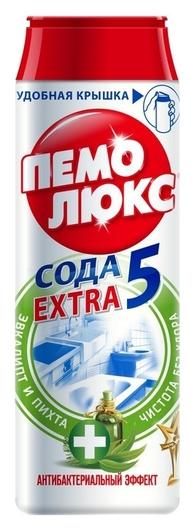 Универсальное чистящее средство пемолюкс экстра порош 480г (Антибактериал)  Пемолюкс