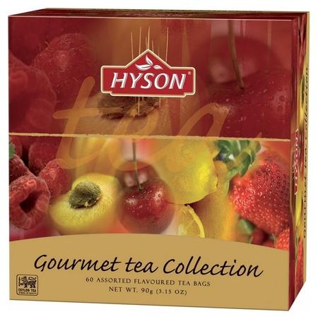 Чай Hyson черн. Gurmet Tea Collection 60 пак X 1.5гр/уп  Hyson