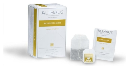 Чай Althaus Deli Packs Bavarian Mint 20 пакx1,75гр/уп Althaus