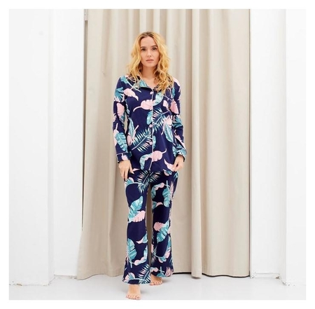 Пижама женская (Рубашка и брюки) Kaftan Tropical Dream р. 40-42 Kaftan