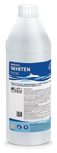 Профхим для посуды замач/отбел, хлорн. с дез-эфф Dolphin/imnova Whiten,1л  Dolphin