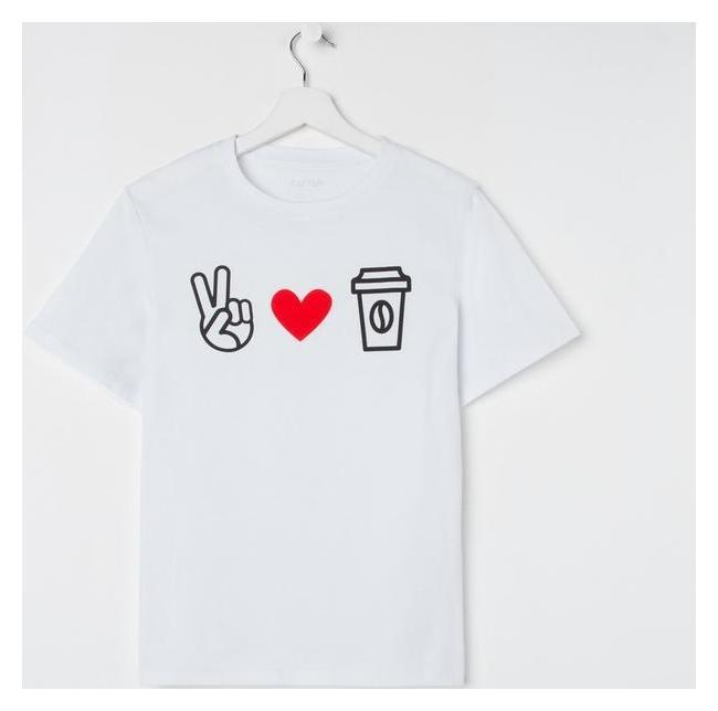 "Футболка женская Kaftan ""Love Coffee"" р. 48-50  Kaftan"