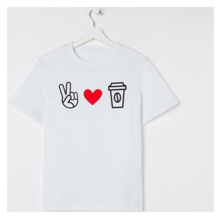 "Футболка женская Kaftan ""love Coffee р. 44-46  Kaftan"