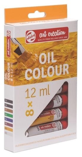 Краски масляные Art Creation 8цвx12мл, 9020108m  Royal Talens