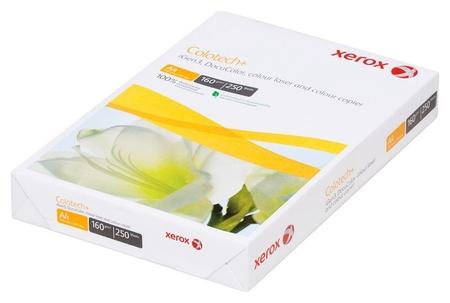 Бумага для цв.лазер.печ. Xerox Colotech Plus (А4,160г,170%cie) пачка250л.  Xerox