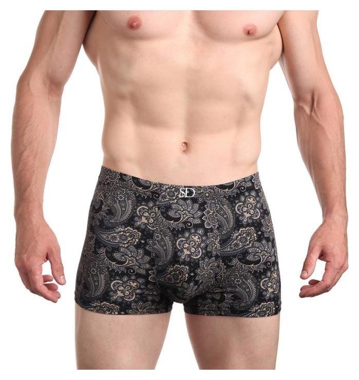 Трусы мужские боксеры, цвет чёрный, размер 52-54 (XXL)  Sergio Dallini
