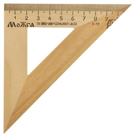 Треугольник деревянный 11см, угол 45 градусов, можга с-138  Можга