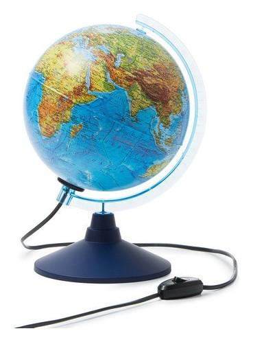 Глобус земли физико-политический,классик,подсветка,210мм  Globen