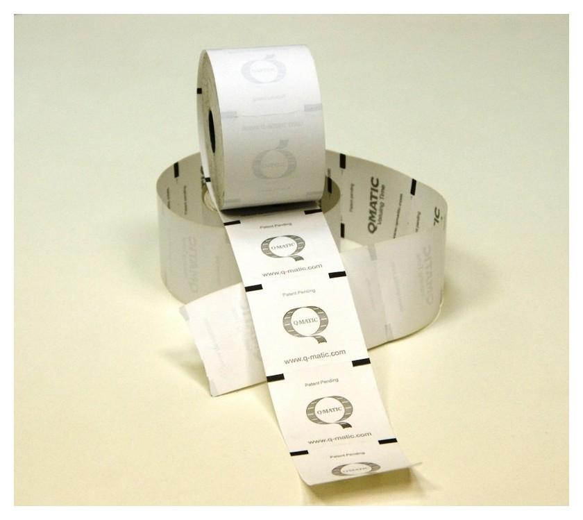Термобилет Q-matic,60x60мм(2000)дуг.пер.вт.26мм,24шт/упtp 71  NNB