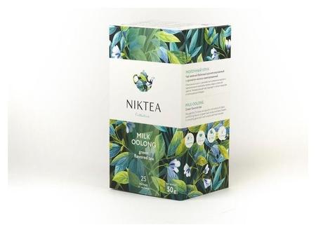 Чай Niktea молочный улун зелен. 25 пакx2гр/уп  Niktea