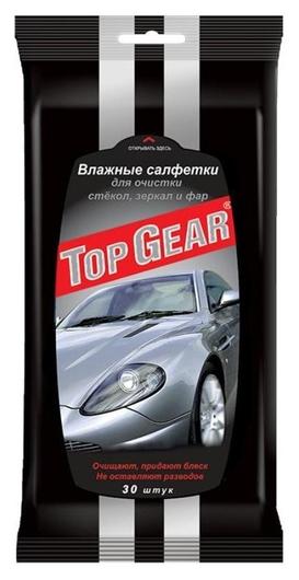 Салфетки влажные для стекол Top Gear №30  Top Gear