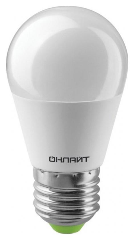 Лампа светодиодная онлайт Oll-g45-10-230-2.7k-e27-promo 10вт Е27 2.7к 82912  Онлайт