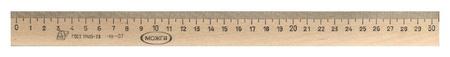 Линейка деревянная 30см,лп-300,с-07  Можга