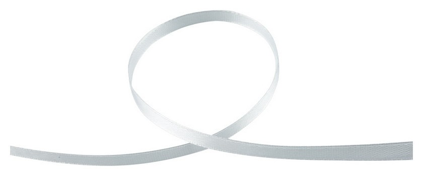Лента обвязочная для прошивки документов белая, 100 м 3шт/уп  NNB