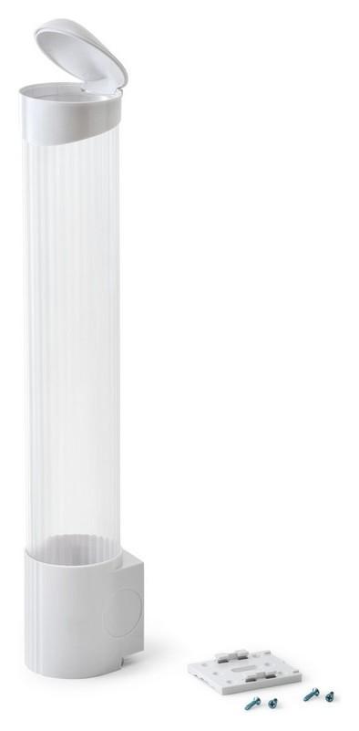 Держатель для стаканов Vatten Cd-v70sw 100ст., белый, саморезы.  Vatten
