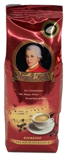 Кофе Mozart Kaffee Premium Intensive в зернах, 250г  Mozart Kaffee