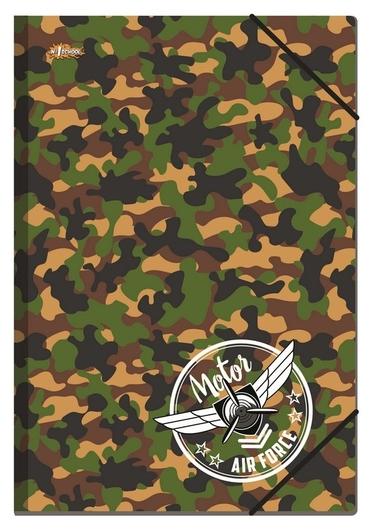 Папка на резинках А5 №1school Military, 92834  №1 School