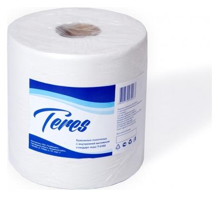 Полотенца бумажные для держ.терес стандарт макси ЦВ 1сл.230м 6рул т-0160  Терес