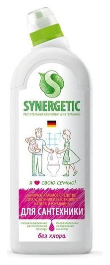 Средство для сантехники Synergetic 1л  Synergetic