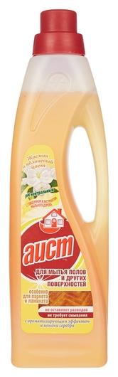 Средство для мытья пола аист с бактерицид.эффектом жасмин и яблоневый цвет  Аист