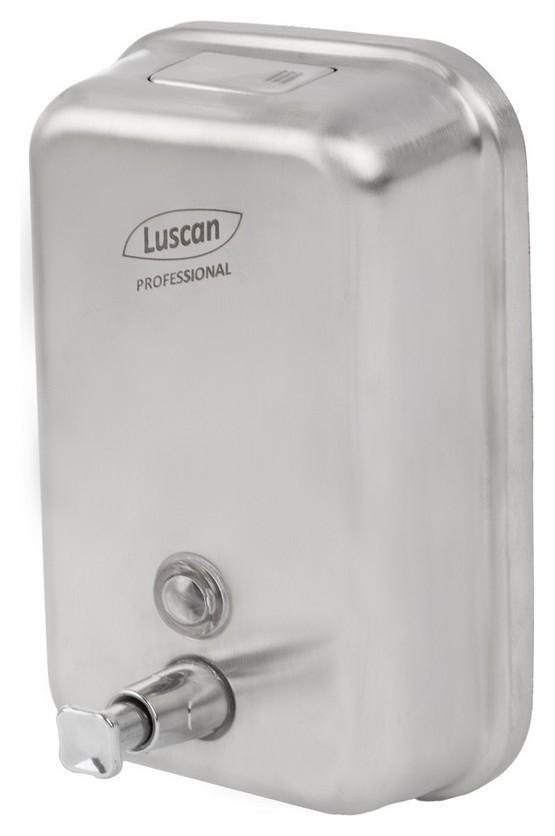 Дозатор для жидкого мыла Luscan Professional Eco 1000 мл металл Dmt1080e  Luscan