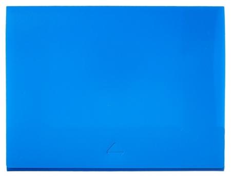 Папка короб Attache А4 на клапане, синяя  Attache