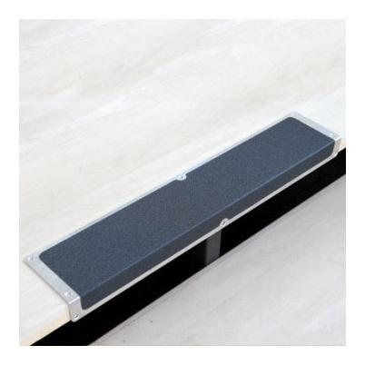 Профиль противоскользящий алюм пластина+угол 120х45х1000мм черный (Akm1sf2)  Mehlhose